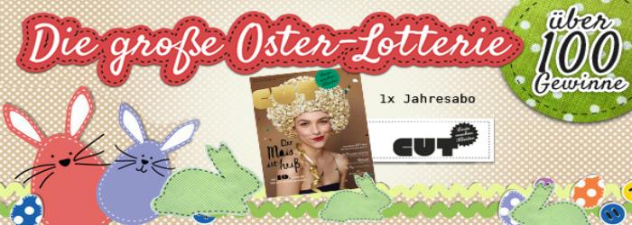 CUT-Magazine - Lesestoff für die Osterlotterie