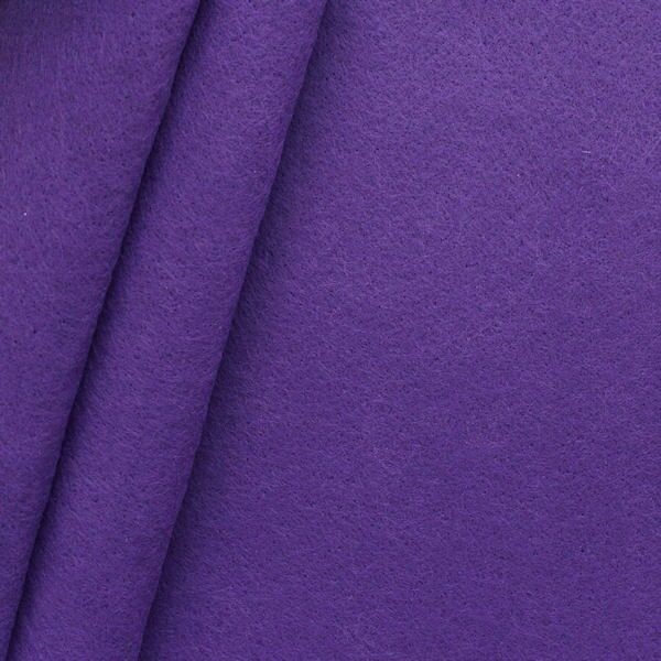 Bastel Filz Stärke 3,0 mm Breite 90 cm Farbe Lila