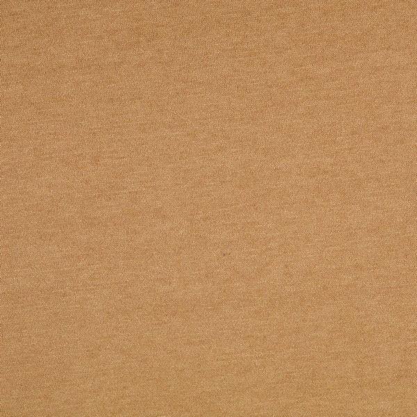 Feinstrick Jersey Classic Knitwear Camel melange