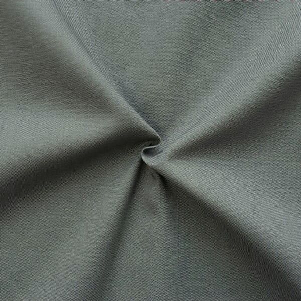 100% Baumwolle Fahnentuch Farbe Mittel-Grau