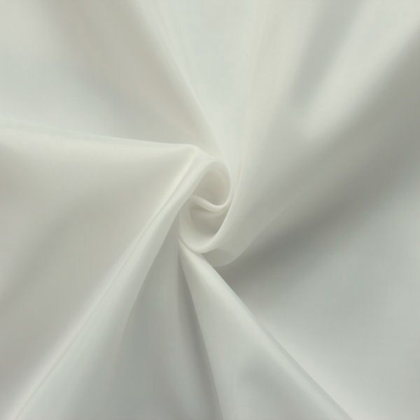 Polyester Taft Futterstoff Weiss