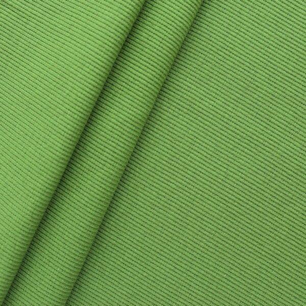 Baumwoll Bündchenstoff Grün