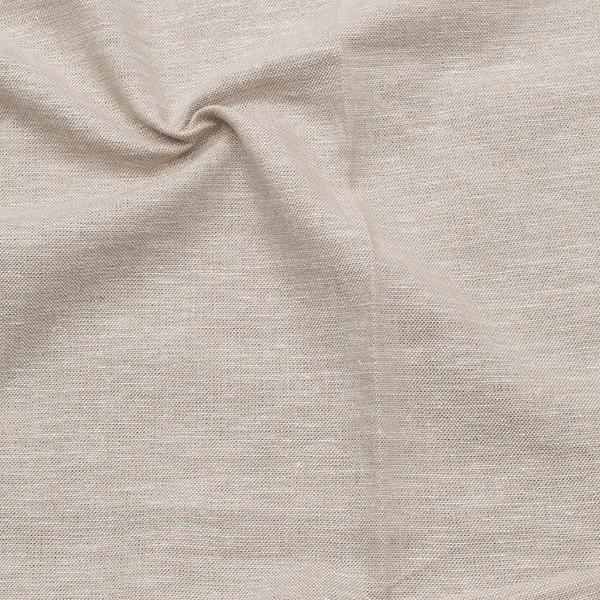 Viskose-Leinen Chambray Farbe Beige