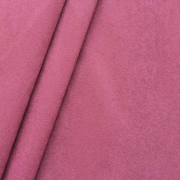 Microfaser Polster- Möbelstoff Artikel Galaxy Farbe Rot-Violett