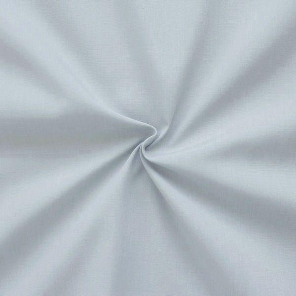 Baumwolle Polyester wie Batist Farbe Hell-Grau