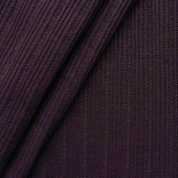 Strickstoff gerippt Farbe Bordeaux