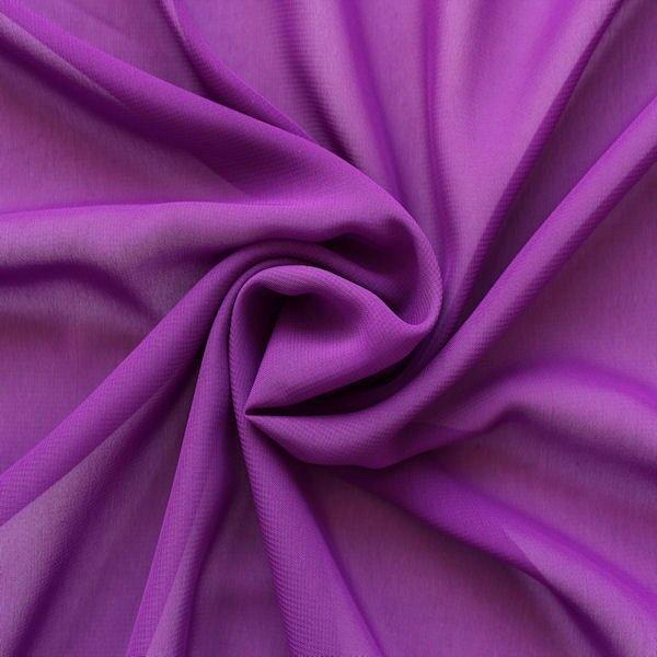 Polyester Chiffon Lila