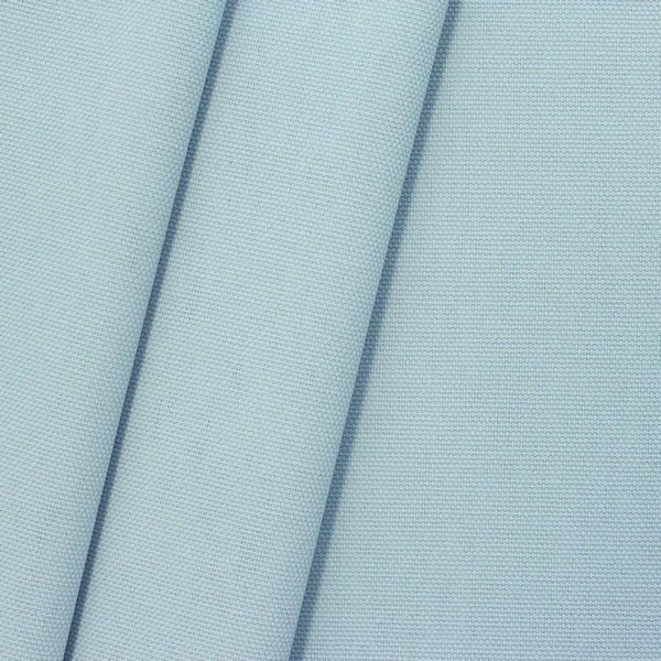 100% Baumwolle Canvas Farbe Hell-Blau