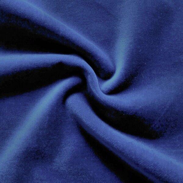 Baumwoll Bekleidungs / Deko Samt Artikel Felix Farbe Royal-Blau