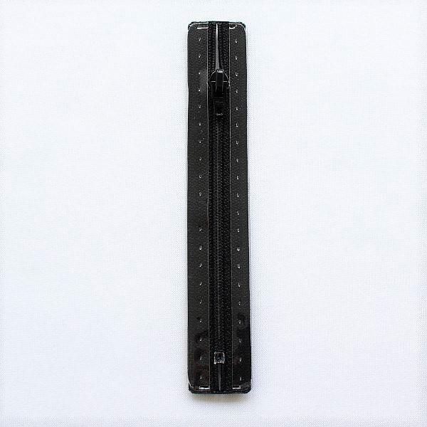 Reißverschluss S1 Typ 12 cm Schwarz