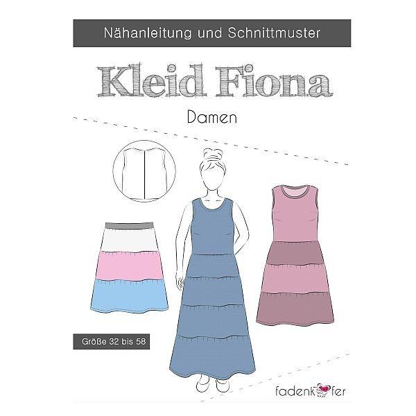 """Fadenkäfer Schnitt """"Kleid Fiona"""" Damen Größe 32 - 58"""