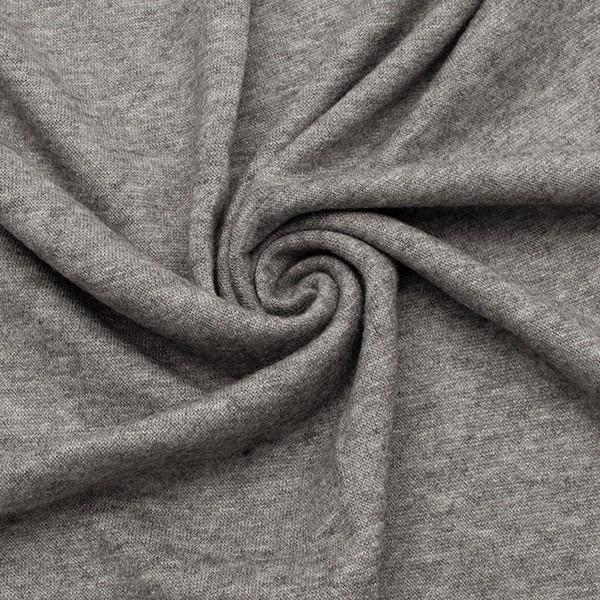 Feinstrick Jersey Classic Knitwear Grau melange