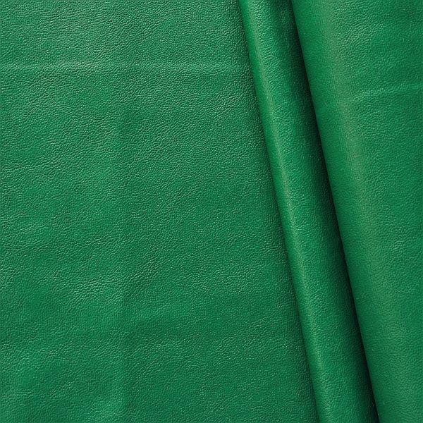 Grünes Kunstleder