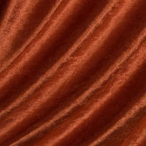 Pannesamt Farbe Terracotta