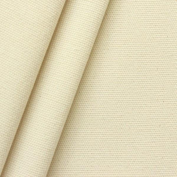 100% Baumwoll Canvas Segeltuch schwere Qualität Artikel Gravis Roh-Weiss Natur