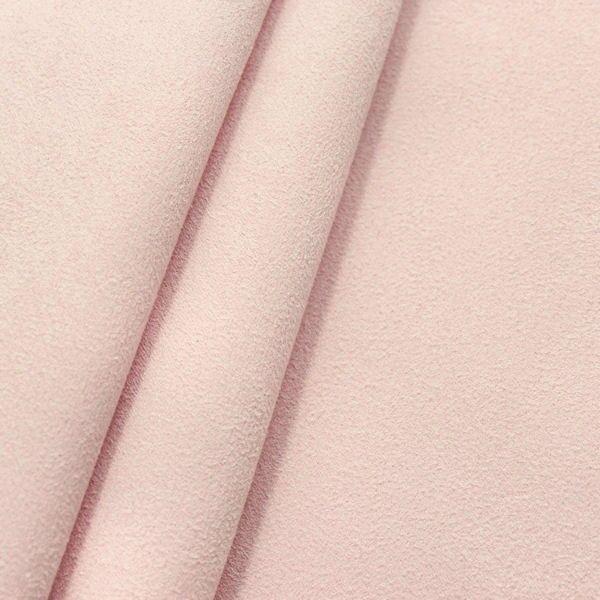 Microfaser Polster- Möbelstoff Artikel Belania Farbe Baby-Rosa