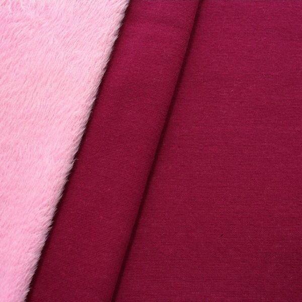 "Alpenfleece Sweatshirt ""Two Tone"" Farbe Fuchsia-Rosa"