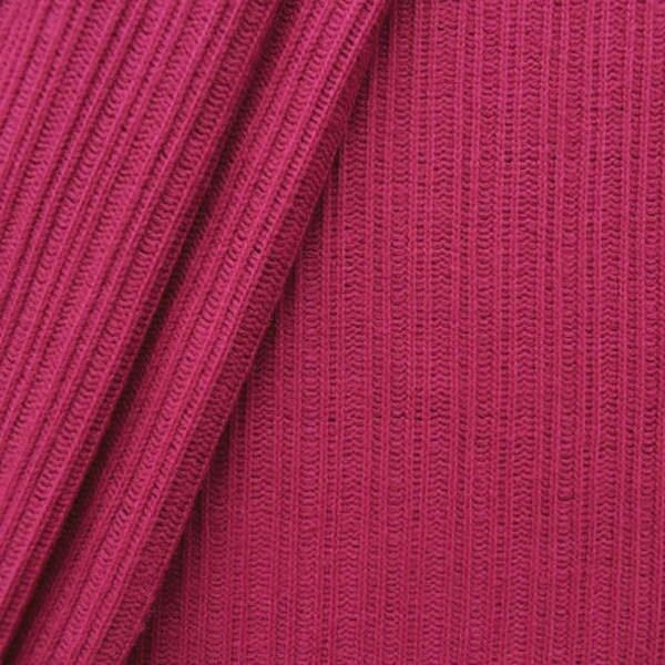 Strickstoff gerippt Farbe Pink