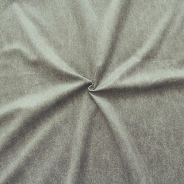 Polsterstoff Dekostoff Digital Druck Jeans Look Taupe
