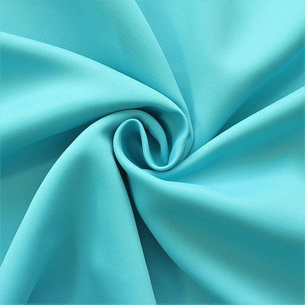 Verdunkelungsstoff Thermo Vorhangstoff Black Out Himmel-Blau