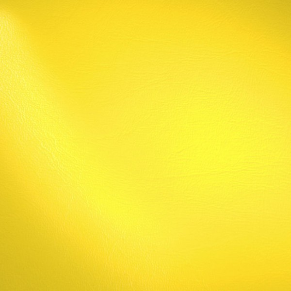 Polster PVC Kunstleder Gelb