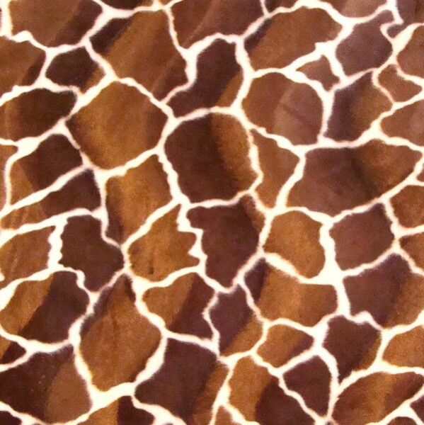 Giraffe 1 Tierfellimitat Velboa