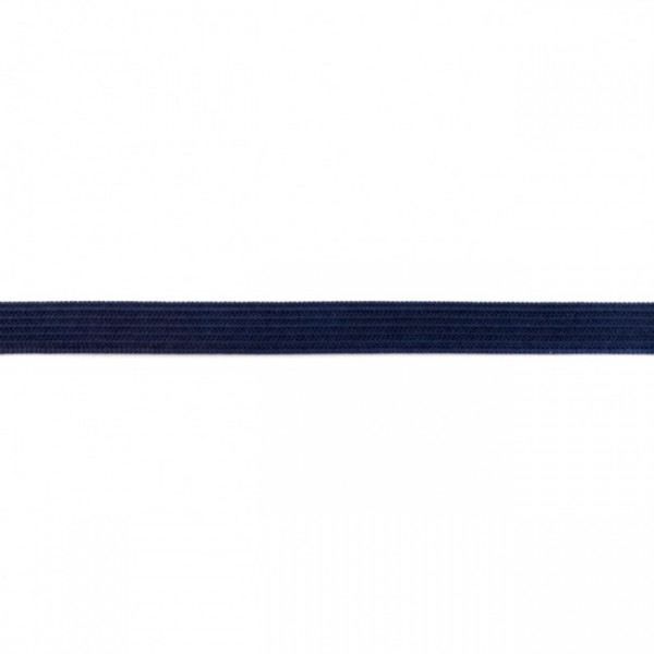 2m Elastikband Breite 10mm Farbe Dunkel-Blau