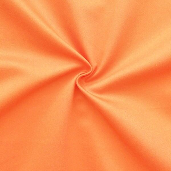 "Dekostoff Breite 280cm ""Satin Optik"" Farbe Orange"