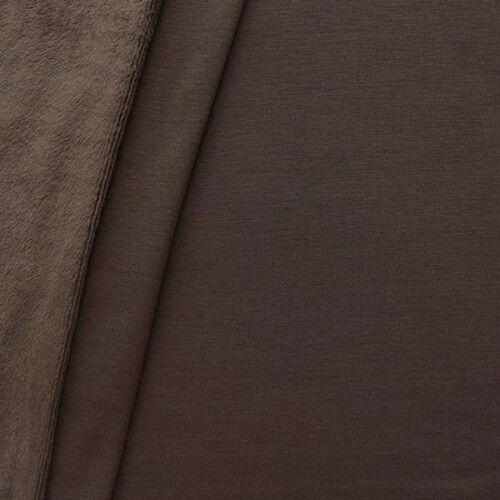 Alpenfleece Sweatshirt 2 Farbe Braun