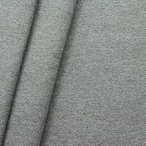 Polster-Möbelstoff Artikel Durban Schurwoll-Optik Grau melange
