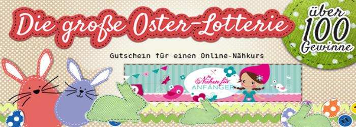 Osterlotterie: Gewinne einen Online-Nähkurs für Anfänger!
