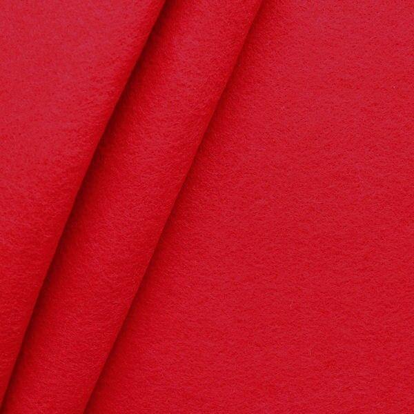 Bastel Filz Stärke 3,0 mm Breite 90 cm Farbe Rot