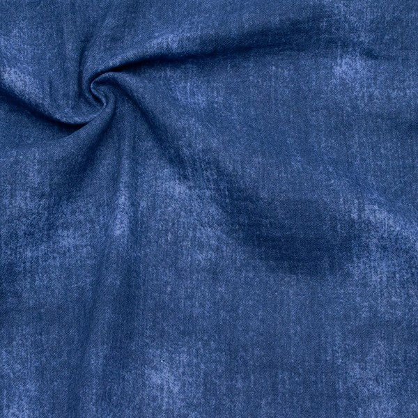 100% Baumwolle Musselin Double Gauze Jeans Optik Jeans-Blau