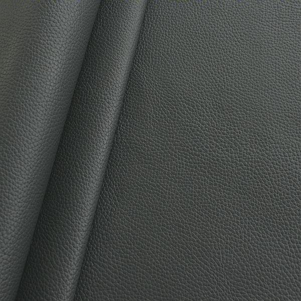 Polster PVC Kunstleder Büffel Optik Graphit-Grau