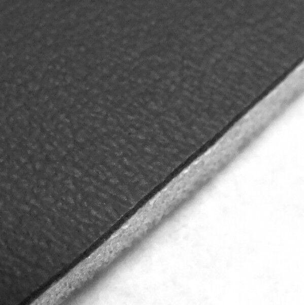 Polster Kunstleder mit Schaumrücken 4mm Farbe Schwarz
