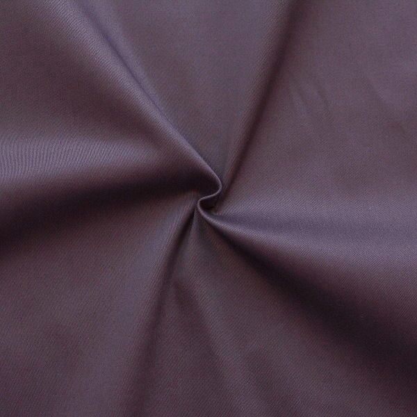Stretch Baumwolle Satin Aubergine