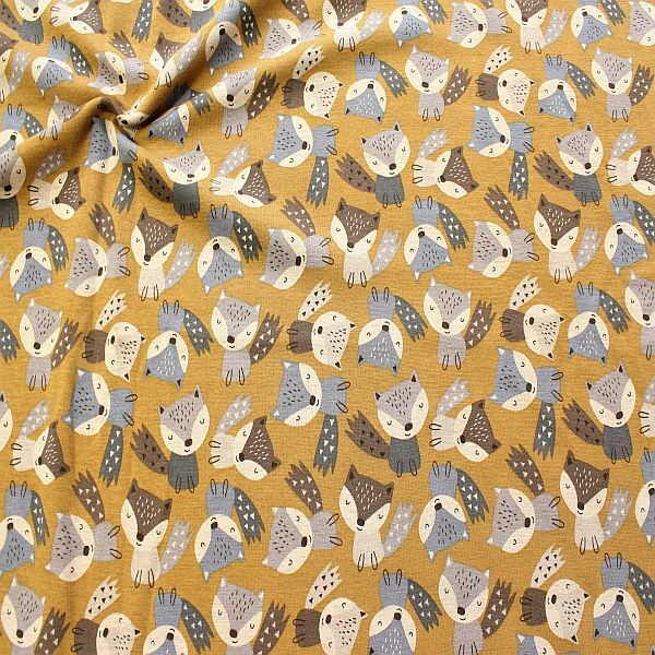 Kuschelweicher Sweatshirtstoff in Trendfarbe