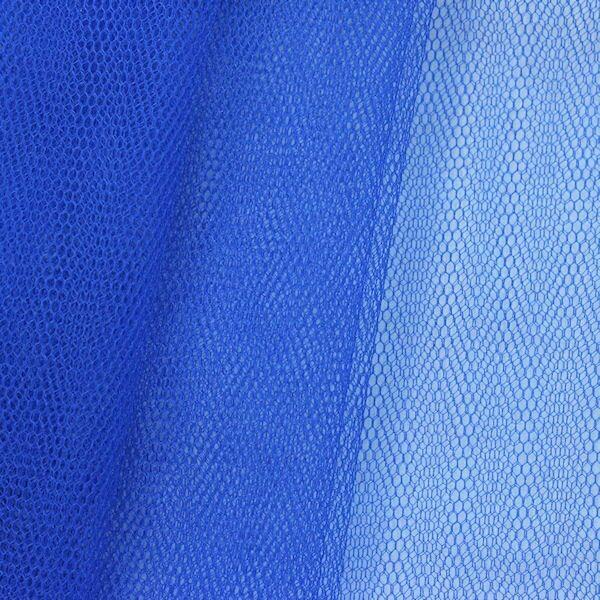 Tüll Stoff Farbe Royal-Blau