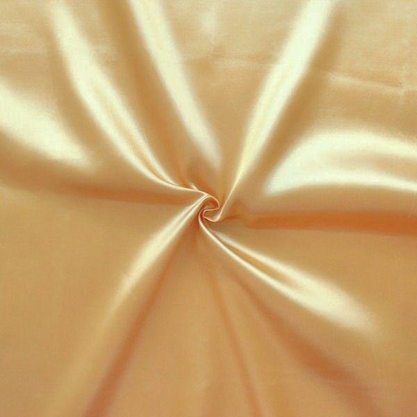 Filz Schwer Entflammbar satin stoff b1 schwer entflammbar farbe gold | stoffkontor.eu