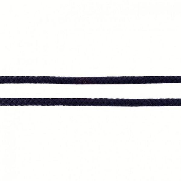 Baumwollkordel 8mm  Navy-Blau
