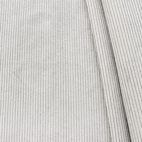 Polster- Möbelstoff Breitcord-Optik Hell-Grau