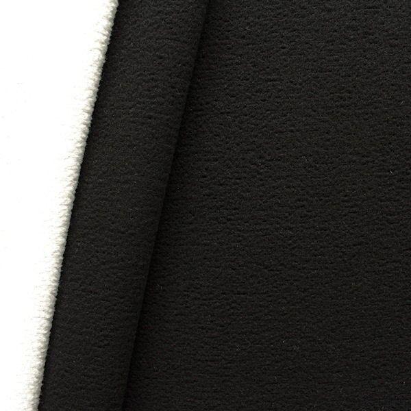 Doubleface Fleece antipilling Farbe Schwarz-Weiss