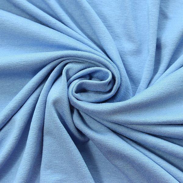 Viskose Stretch Jersey Basic Veilchen-Blau