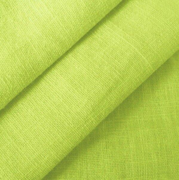 100% Leinen Stoff Artikel Barcelona, Farbe Lind-Grün