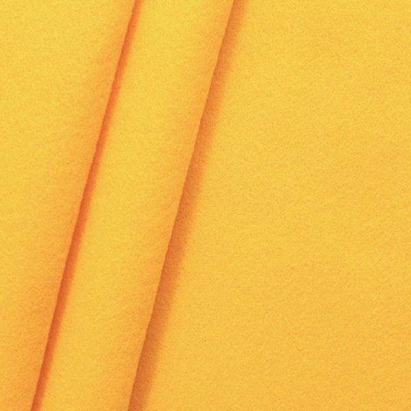 Dekorations Bastel Filz Breite 180 cm Farbe Gelb