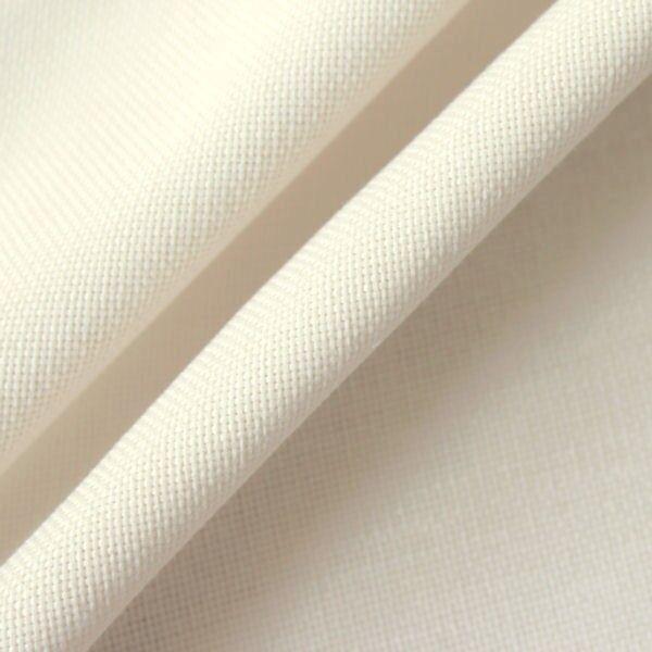 Polster- Möbelstoff Artikel Mimoza Farbe Creme-Weiss