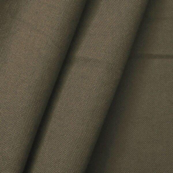 100% Baumwolle Canvas Farbe Schlamm