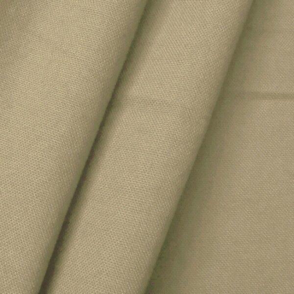 100% Baumwolle Canvas Farbe Beige