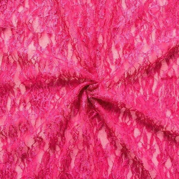 Spitzenstoff Pink