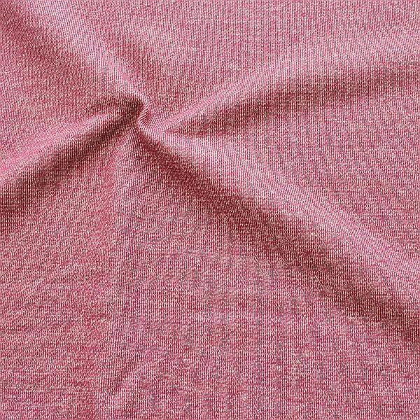 Sweatshirt Baumwollstoff French Terry Melange Fuchsia
